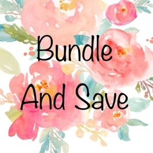 🌸BUNDLE and SAVE 15% on items $200 and below!🌸